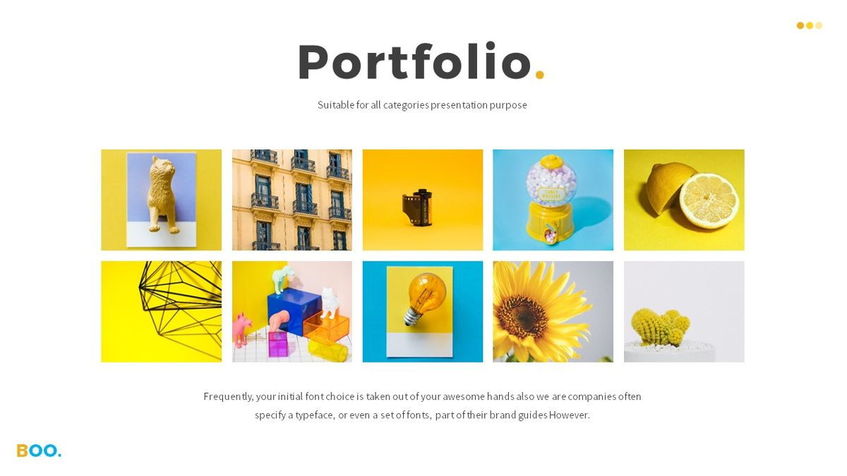 Boo - Multipurpose Creative Powerpoint Template, Slide 14, 06403, Data Driven Diagrams and Charts — PoweredTemplate.com