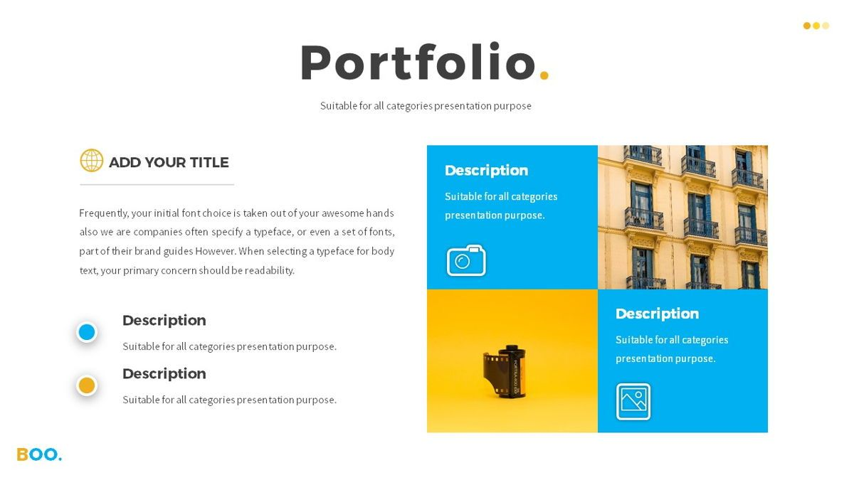 Boo - Multipurpose Creative Powerpoint Template, Slide 15, 06403, Data Driven Diagrams and Charts — PoweredTemplate.com