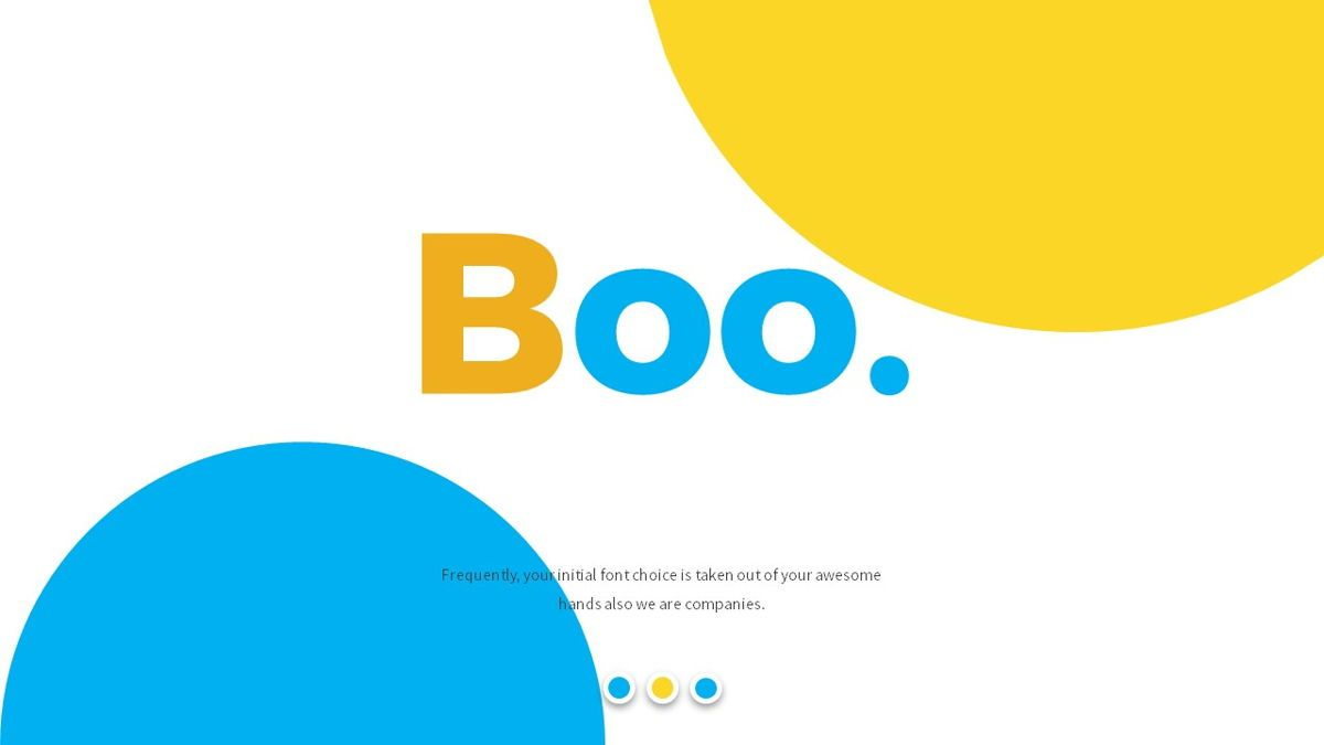 Boo - Multipurpose Creative Powerpoint Template, Slide 2, 06403, Data Driven Diagrams and Charts — PoweredTemplate.com