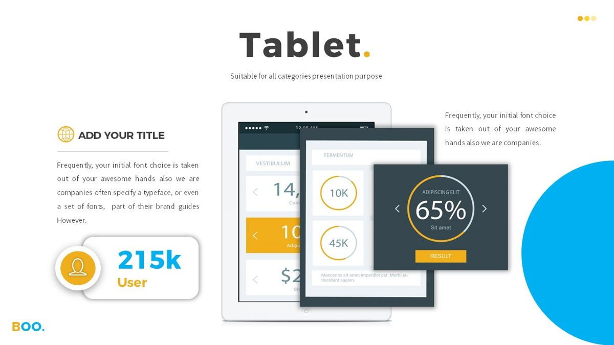Boo - Multipurpose Creative Powerpoint Template, Slide 23, 06403, Data Driven Diagrams and Charts — PoweredTemplate.com