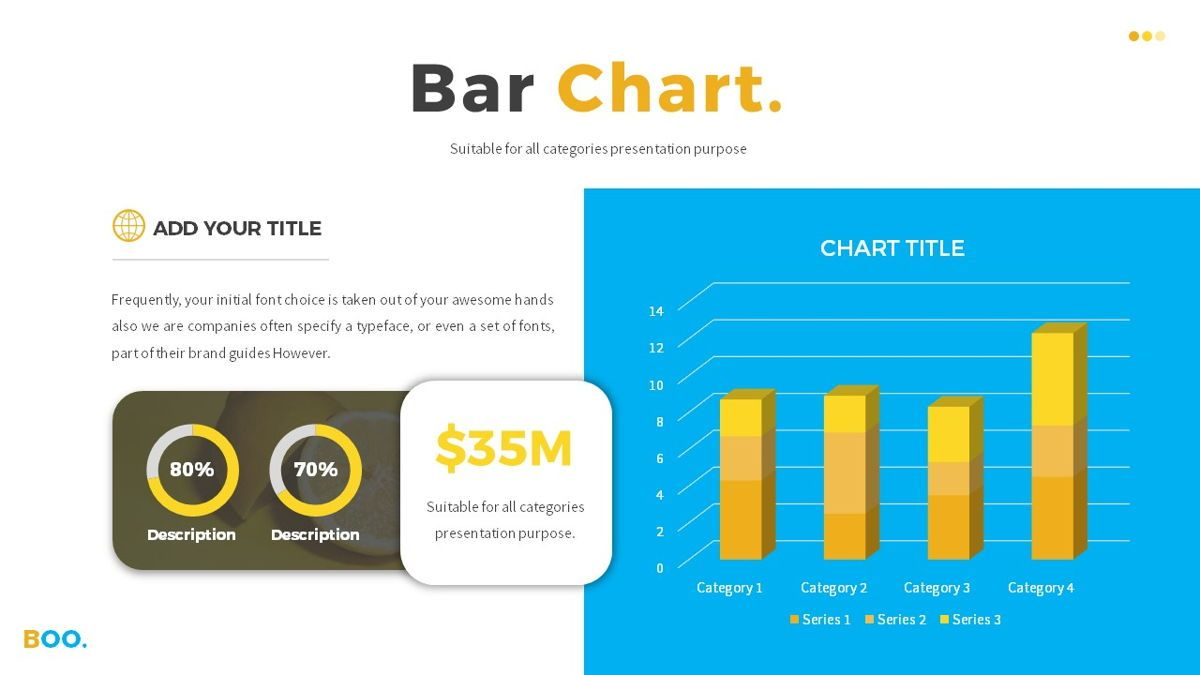 Boo - Multipurpose Creative Powerpoint Template, Slide 26, 06403, Data Driven Diagrams and Charts — PoweredTemplate.com