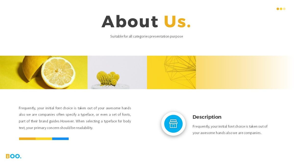 Boo - Multipurpose Creative Powerpoint Template, Slide 4, 06403, Data Driven Diagrams and Charts — PoweredTemplate.com
