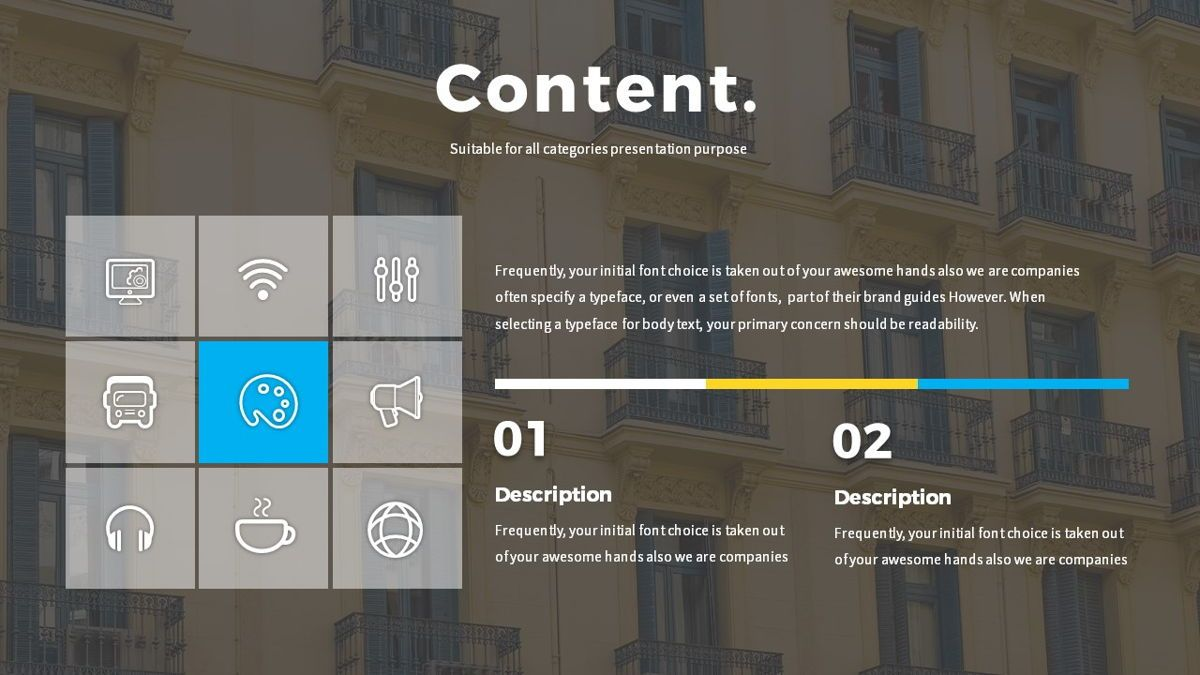 Boo - Multipurpose Creative Powerpoint Template, Slide 7, 06403, Data Driven Diagrams and Charts — PoweredTemplate.com