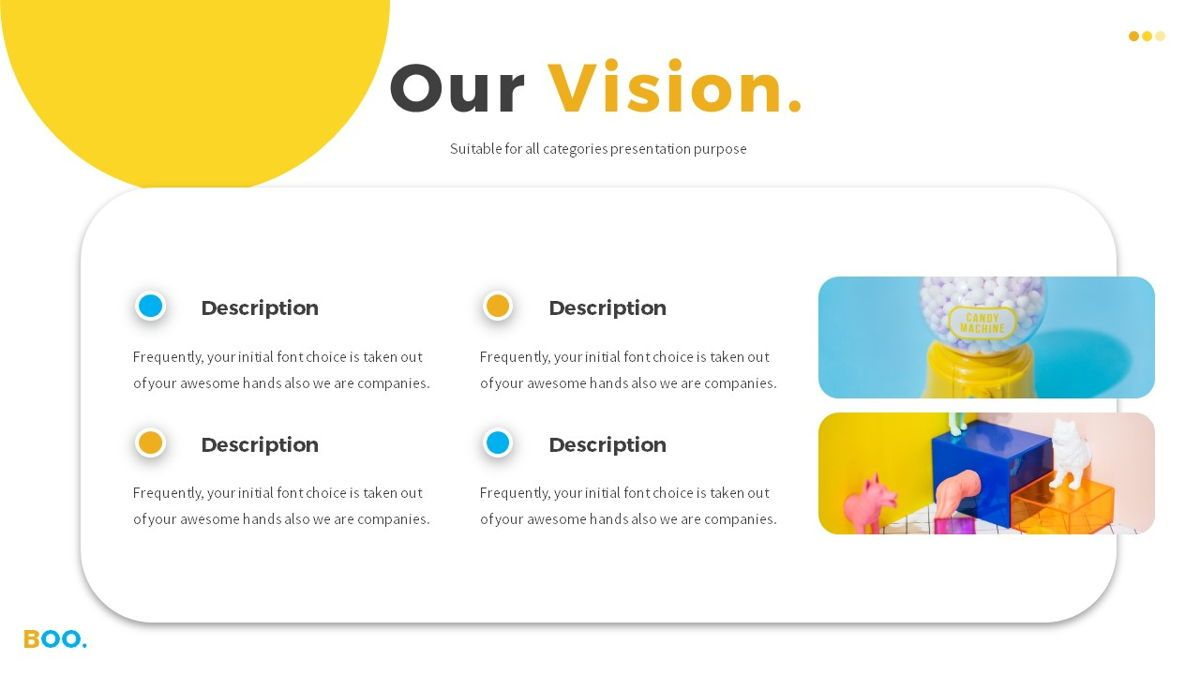 Boo - Multipurpose Creative Powerpoint Template, Slide 8, 06403, Data Driven Diagrams and Charts — PoweredTemplate.com