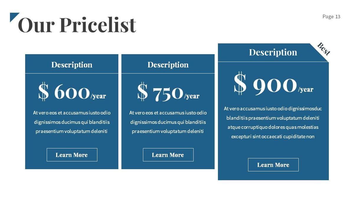 Linka - Consultant Powerpoint Template, Slide 14, 06404, Business Models — PoweredTemplate.com