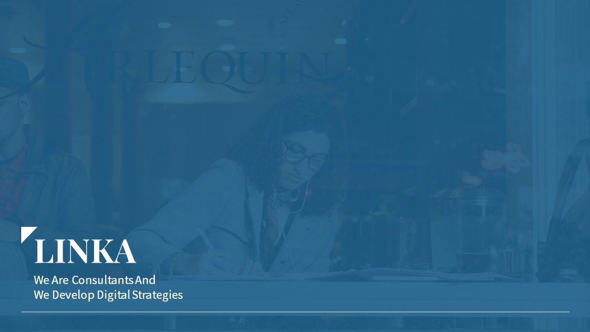 Linka - Consultant Powerpoint Template, Slide 2, 06404, Business Models — PoweredTemplate.com
