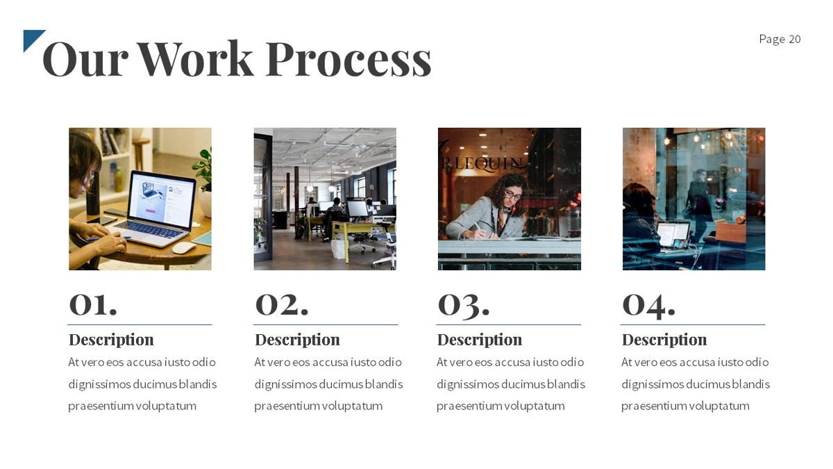 Linka - Consultant Powerpoint Template, Slide 21, 06404, Business Models — PoweredTemplate.com