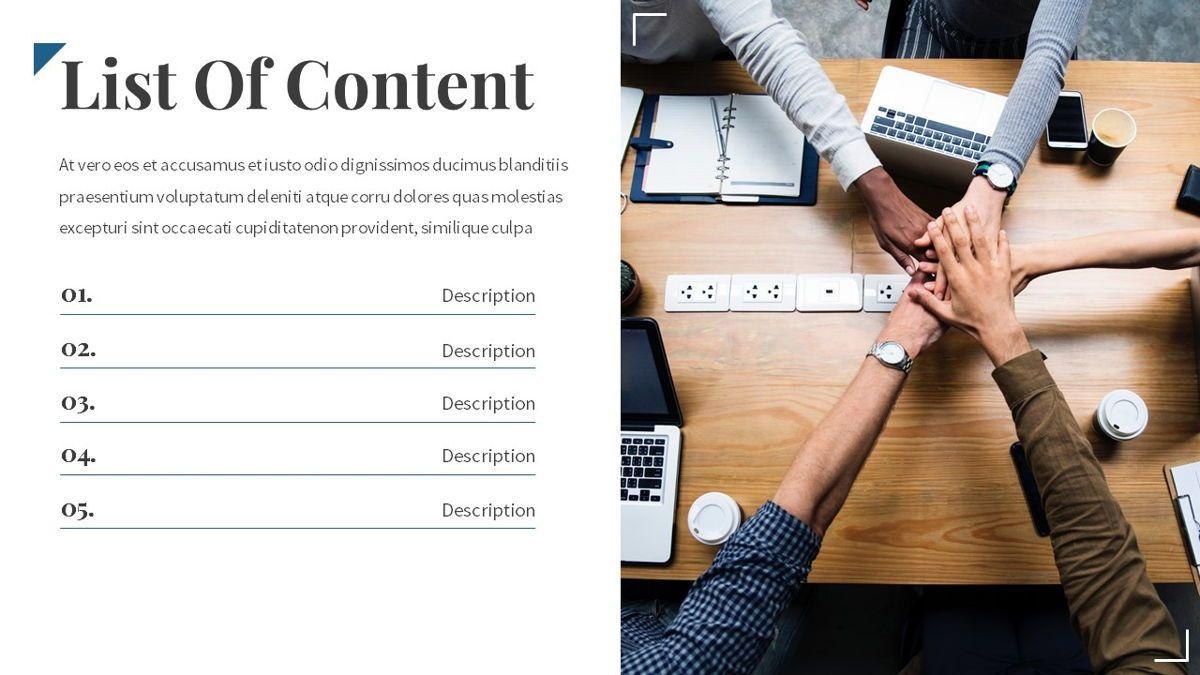 Linka - Consultant Powerpoint Template, Slide 3, 06404, Business Models — PoweredTemplate.com