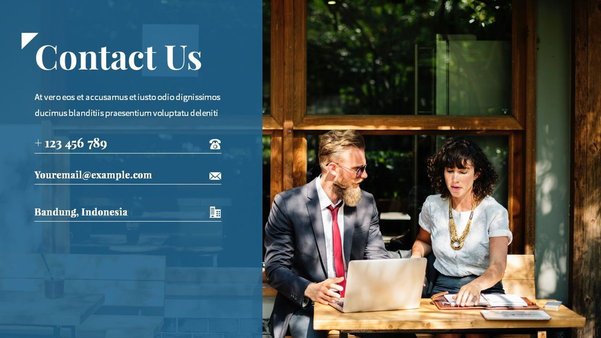 Linka - Consultant Powerpoint Template, Slide 30, 06404, Business Models — PoweredTemplate.com