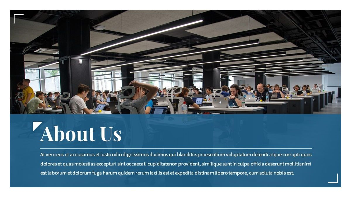Linka - Consultant Powerpoint Template, Slide 5, 06404, Business Models — PoweredTemplate.com