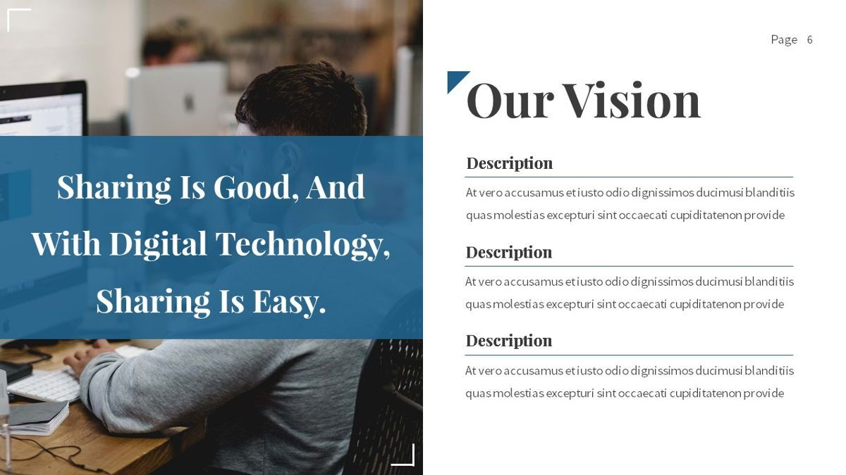 Linka - Consultant Powerpoint Template, Slide 7, 06404, Business Models — PoweredTemplate.com