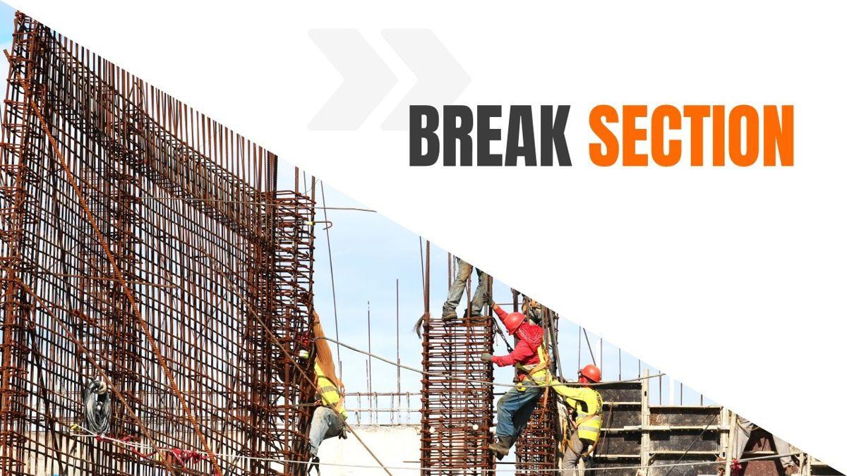 Ankara - Construction Powerpoint Template, Slide 18, 06405, Data Driven Diagrams and Charts — PoweredTemplate.com