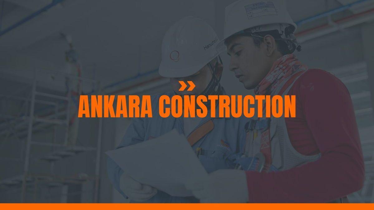 Ankara - Construction Powerpoint Template, Slide 2, 06405, Data Driven Diagrams and Charts — PoweredTemplate.com