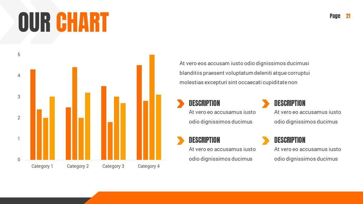 Ankara - Construction Powerpoint Template, Slide 22, 06405, Data Driven Diagrams and Charts — PoweredTemplate.com