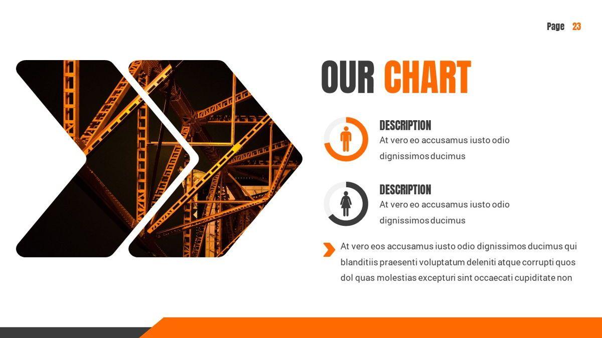 Ankara - Construction Powerpoint Template, Slide 24, 06405, Data Driven Diagrams and Charts — PoweredTemplate.com
