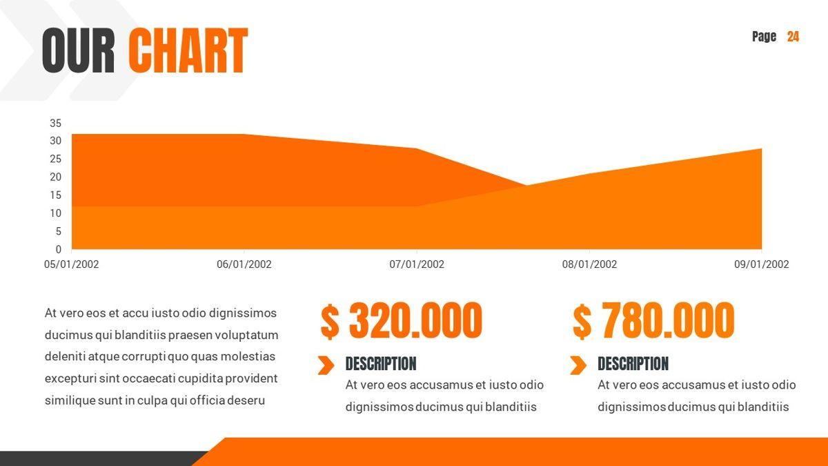 Ankara - Construction Powerpoint Template, Slide 25, 06405, Data Driven Diagrams and Charts — PoweredTemplate.com