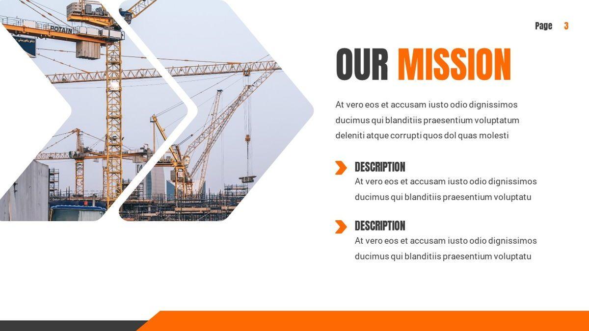 Ankara - Construction Powerpoint Template, Slide 4, 06405, Data Driven Diagrams and Charts — PoweredTemplate.com