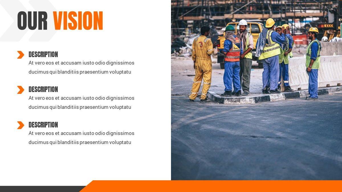 Ankara - Construction Powerpoint Template, Slide 5, 06405, Data Driven Diagrams and Charts — PoweredTemplate.com
