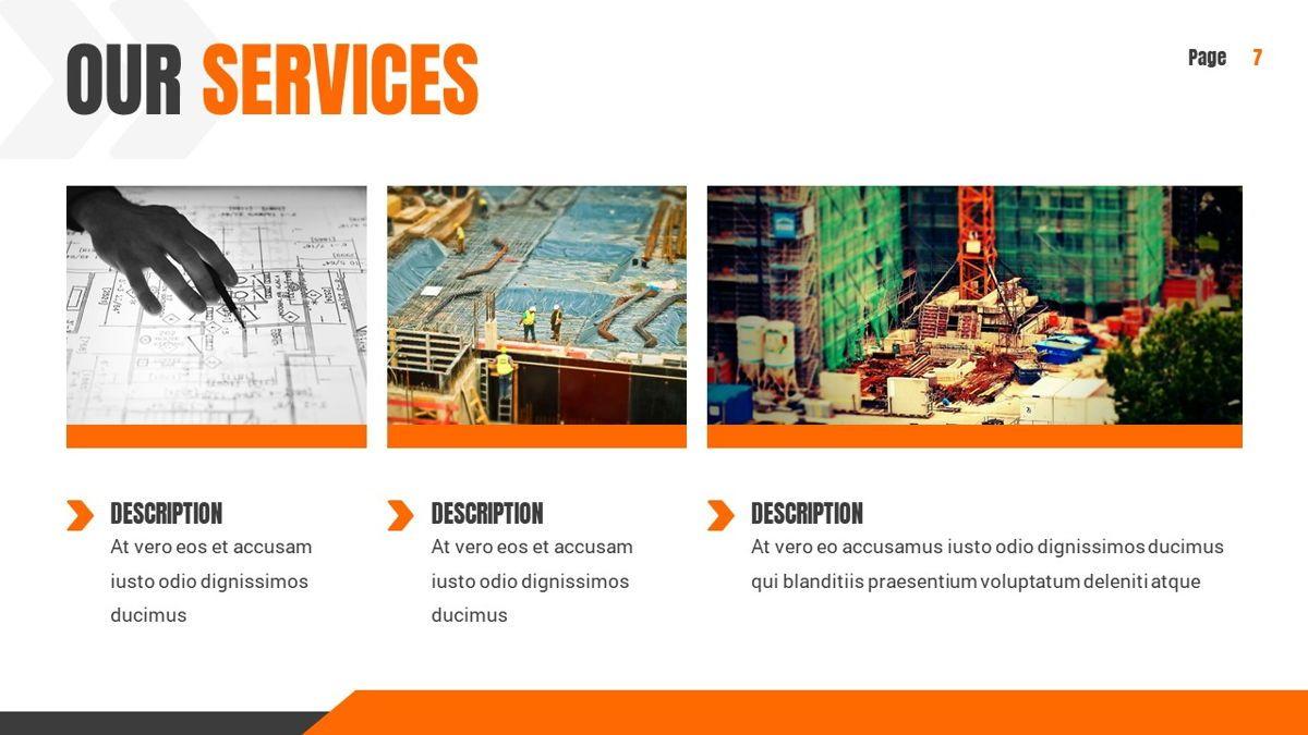 Ankara - Construction Powerpoint Template, Slide 8, 06405, Data Driven Diagrams and Charts — PoweredTemplate.com