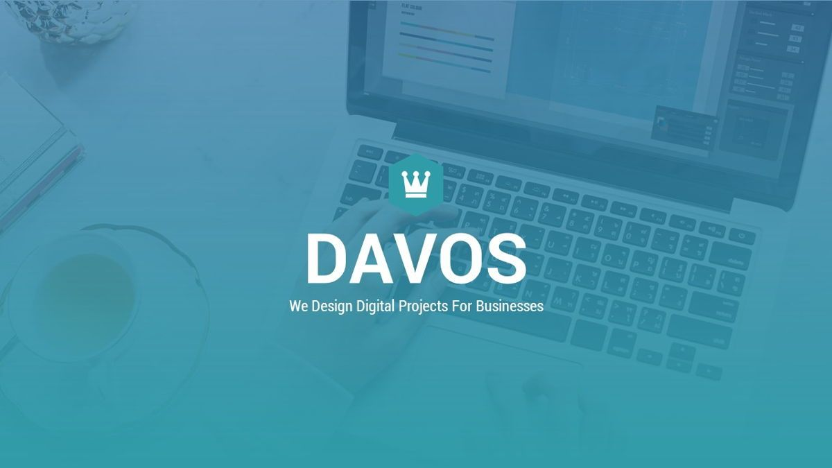 Davos - Design Digital Powerpoint Template, Slide 2, 06406, Data Driven Diagrams and Charts — PoweredTemplate.com