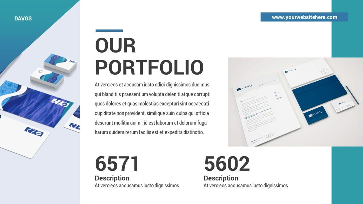 Davos - Design Digital Powerpoint Template, Slide 21, 06406, Data Driven Diagrams and Charts — PoweredTemplate.com