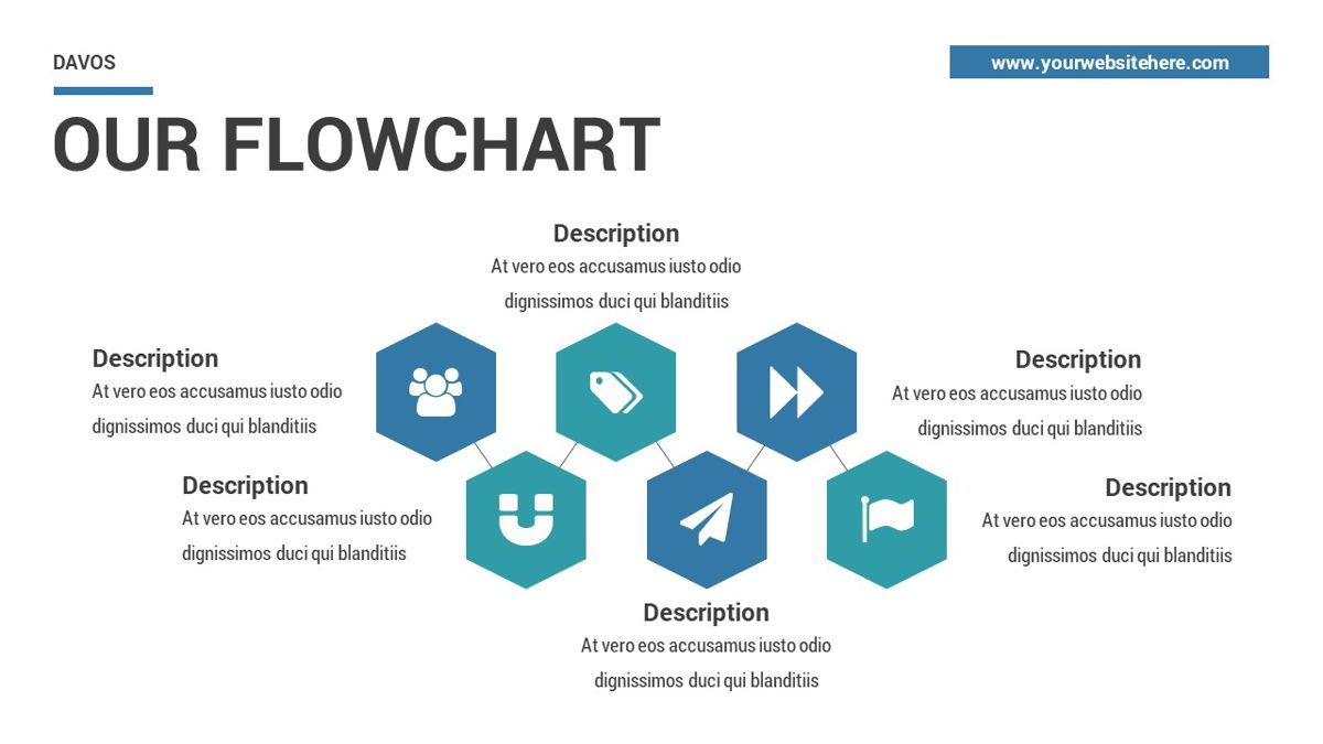 Davos - Design Digital Powerpoint Template, Slide 25, 06406, Data Driven Diagrams and Charts — PoweredTemplate.com