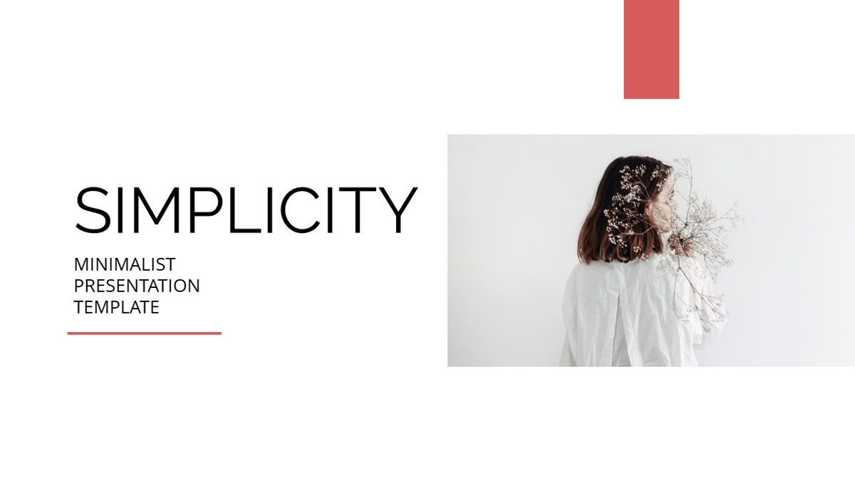 Simplycity - Minimalist Powerpoint Template, Slide 2, 06408, Data Driven Diagrams and Charts — PoweredTemplate.com