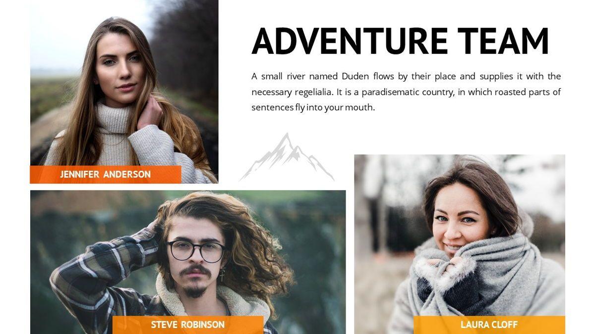 Montana - Adventure Powerpoint Template, Slide 12, 06409, Business Models — PoweredTemplate.com
