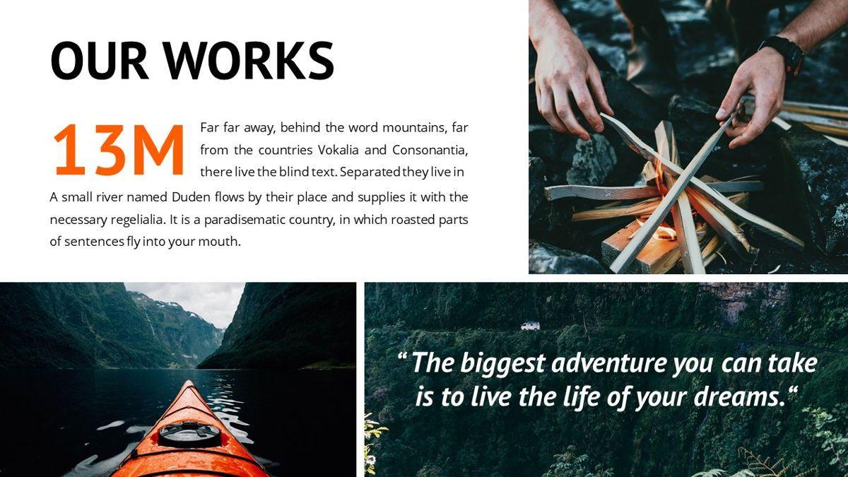 Montana - Adventure Powerpoint Template, Slide 15, 06409, Business Models — PoweredTemplate.com