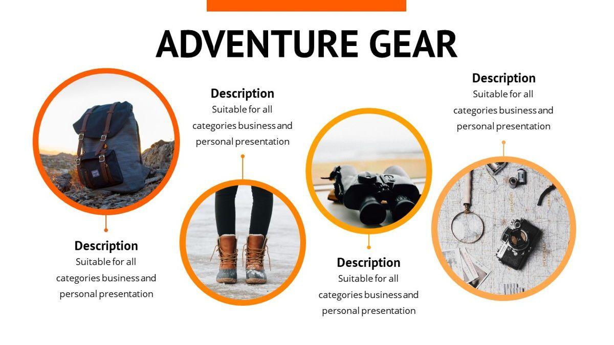Montana - Adventure Powerpoint Template, Slide 17, 06409, Business Models — PoweredTemplate.com
