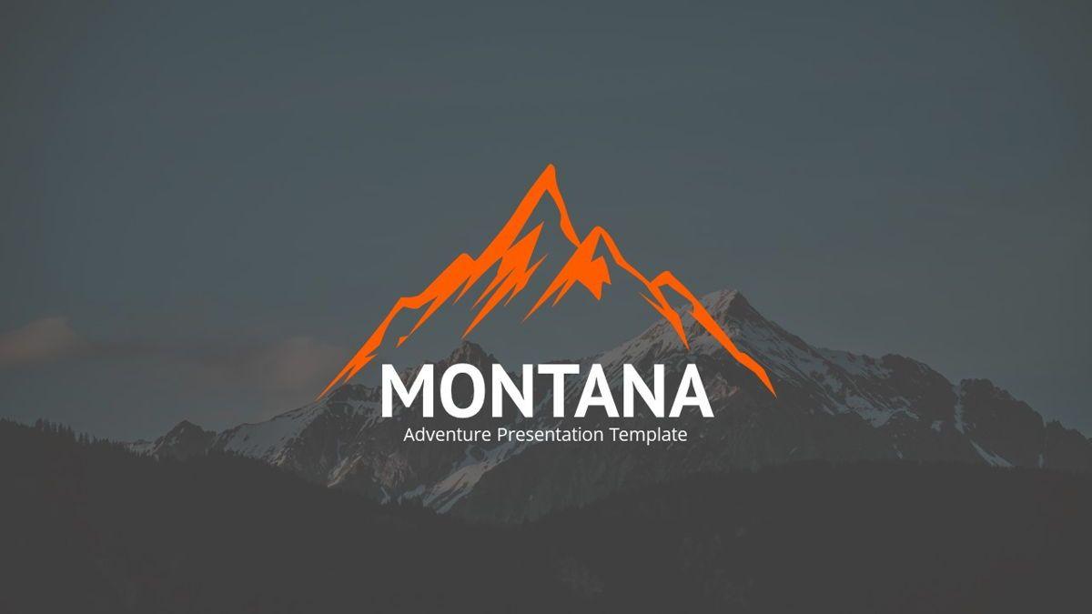 Montana - Adventure Powerpoint Template, Slide 2, 06409, Business Models — PoweredTemplate.com