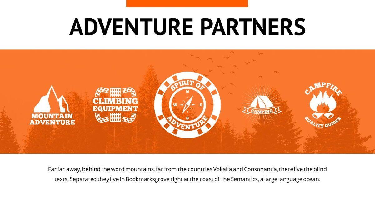 Montana - Adventure Powerpoint Template, Slide 28, 06409, Business Models — PoweredTemplate.com