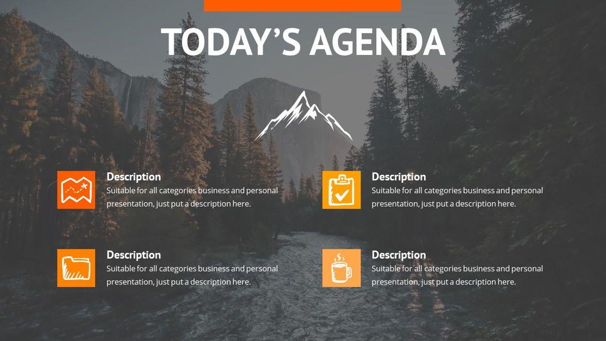 Montana - Adventure Powerpoint Template, Slide 3, 06409, Business Models — PoweredTemplate.com