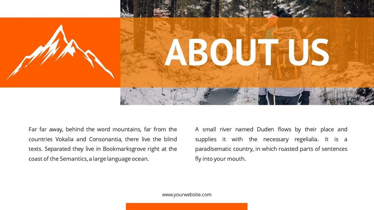 Montana - Adventure Powerpoint Template, Slide 5, 06409, Business Models — PoweredTemplate.com