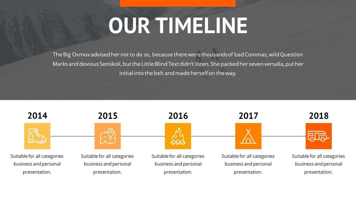 Montana - Adventure Powerpoint Template, Slide 9, 06409, Business Models — PoweredTemplate.com