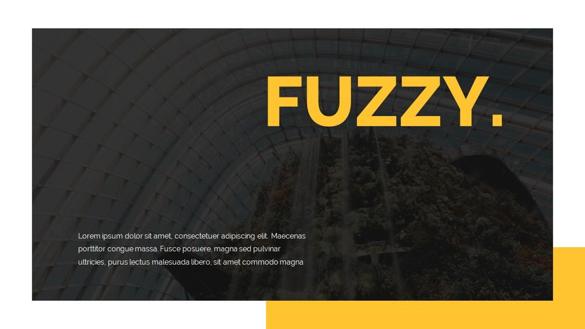 Fuzzy - Creative Powerpoint Presentation Template, Slide 2, 06410, Data Driven Diagrams and Charts — PoweredTemplate.com