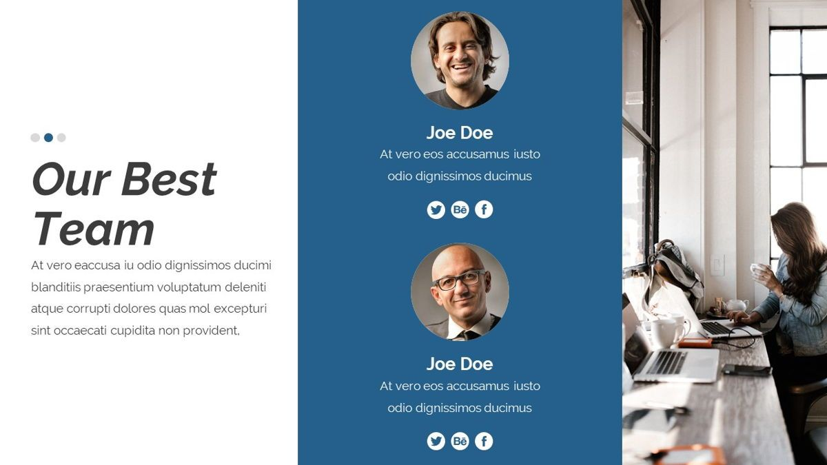 Dior - Agency Powerpoint Template, Slide 15, 06412, Business Models — PoweredTemplate.com