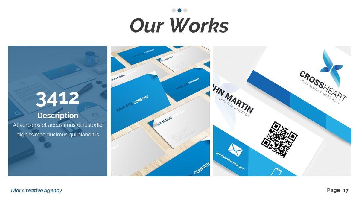 Dior - Agency Powerpoint Template, Slide 18, 06412, Business Models — PoweredTemplate.com