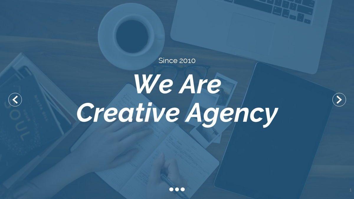 Dior - Agency Powerpoint Template, Slide 2, 06412, Business Models — PoweredTemplate.com