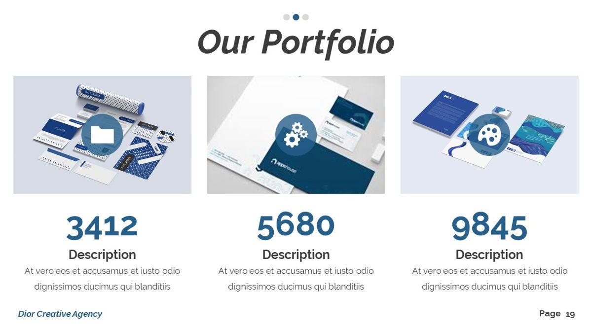 Dior - Agency Powerpoint Template, Slide 20, 06412, Business Models — PoweredTemplate.com