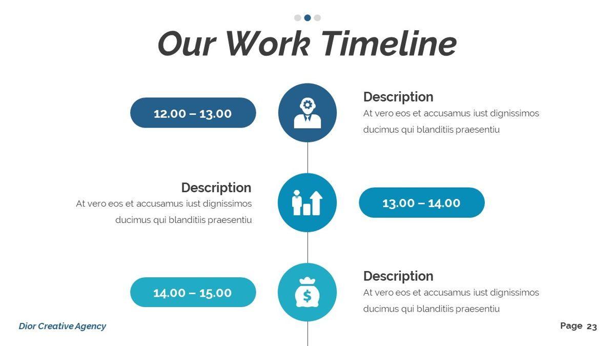 Dior - Agency Powerpoint Template, Slide 24, 06412, Business Models — PoweredTemplate.com
