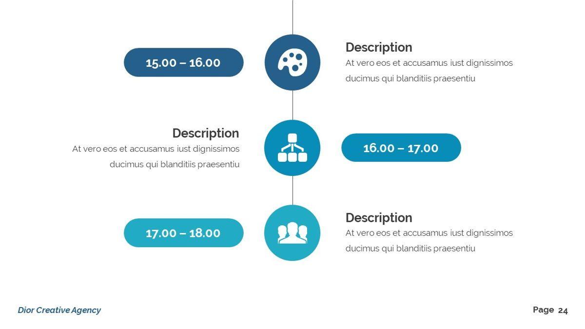 Dior - Agency Powerpoint Template, Slide 25, 06412, Business Models — PoweredTemplate.com