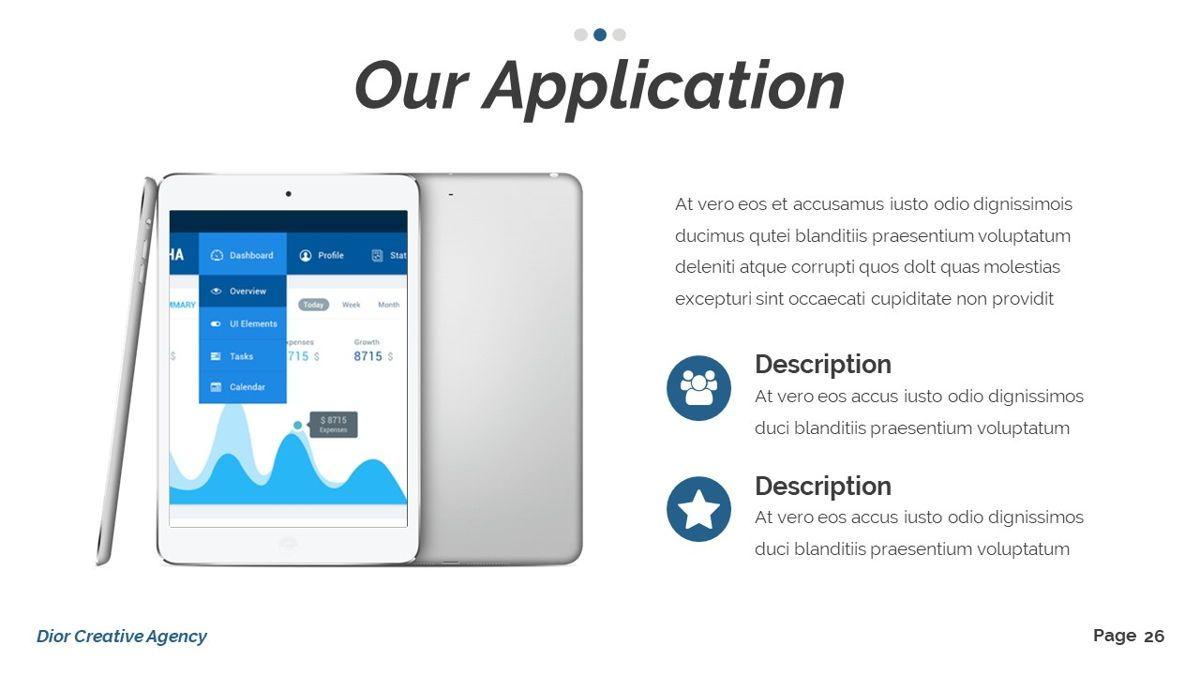Dior - Agency Powerpoint Template, Slide 27, 06412, Business Models — PoweredTemplate.com