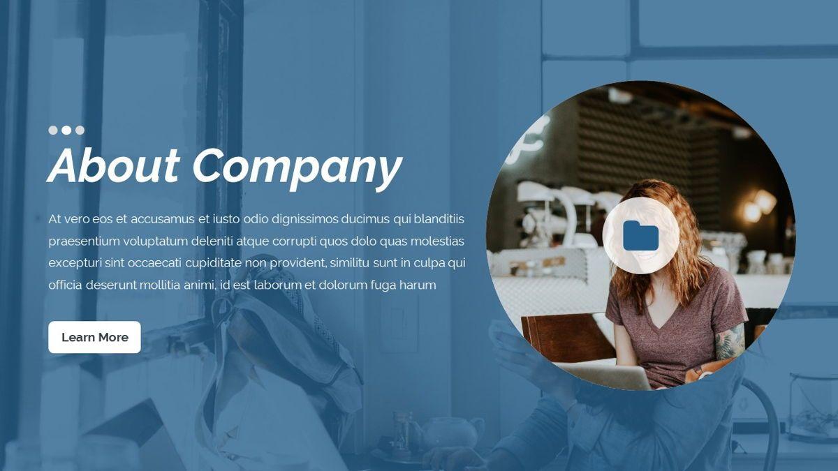 Dior - Agency Powerpoint Template, Slide 5, 06412, Business Models — PoweredTemplate.com