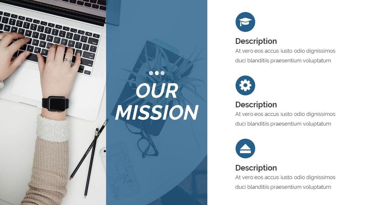 Dior - Agency Powerpoint Template, Slide 6, 06412, Business Models — PoweredTemplate.com