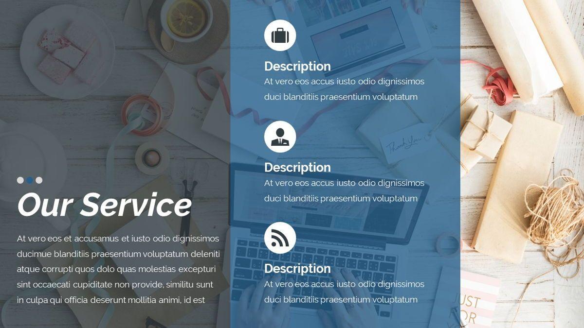 Dior - Agency Powerpoint Template, Slide 8, 06412, Business Models — PoweredTemplate.com