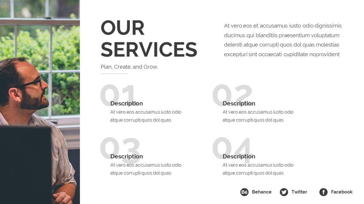 Loras - Creative Powerpoint Template, Slide 10, 06413, Business Models — PoweredTemplate.com