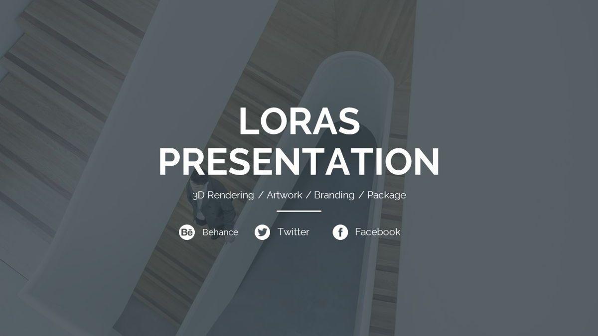 Loras - Creative Powerpoint Template, Slide 2, 06413, Business Models — PoweredTemplate.com