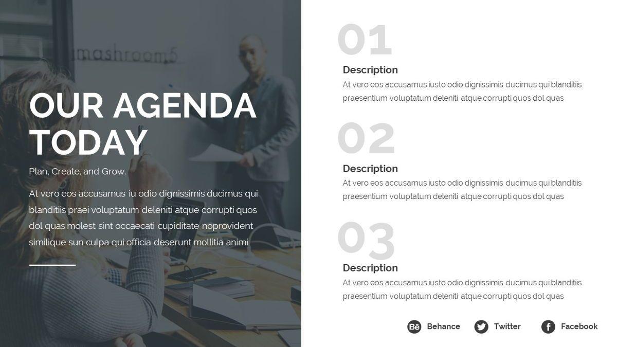 Loras - Creative Powerpoint Template, Slide 3, 06413, Business Models — PoweredTemplate.com