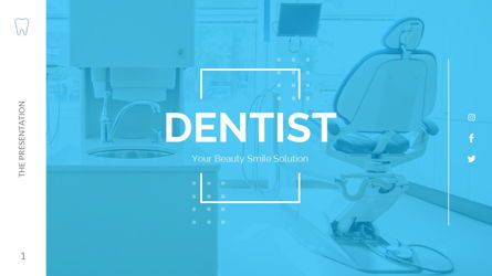 Business Models: DENTIST - Presentation Powerpoints Template #06415